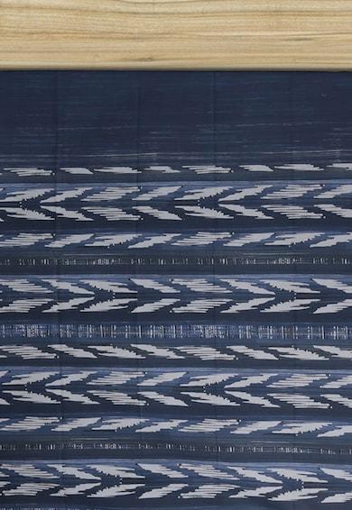 Leunelle Cearsaf cu elastic si imprimeu geometric Ravel Femei