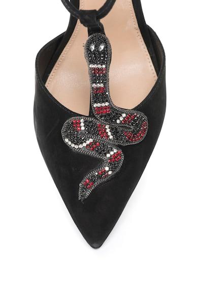 Arezzo Sandale de piele nabuc cu toc inalt Femei