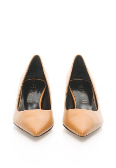 Zee Lane Pantofi de piele cu varf ascutit si toc kitten Only Femei