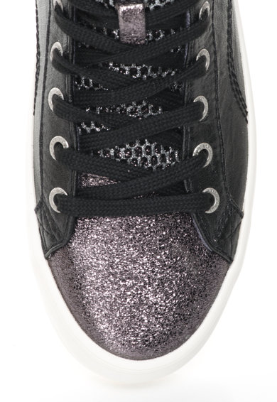 Pepe Jeans Pantofi sport mid-high stralucitori Clinton Femei