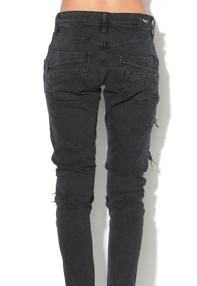 Pepe Jeans London Blugi comfort fit cu strasuri Crystal Femei