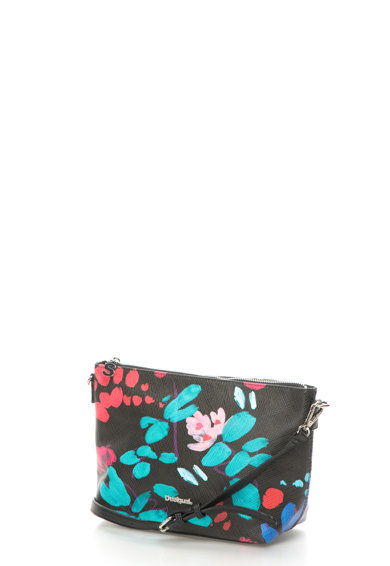 DESIGUAL Geanta cu design cu flori pictate Misha Femei