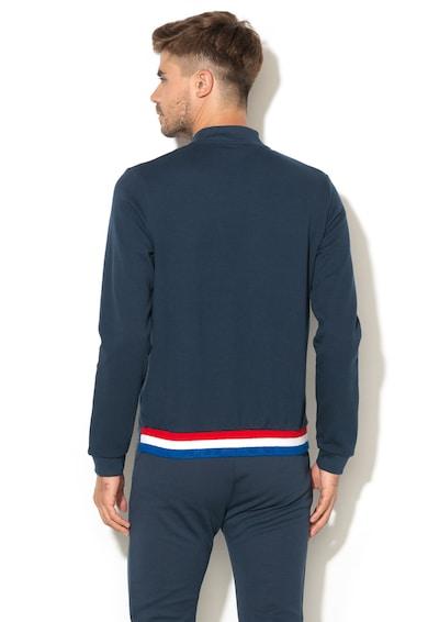 Le Coq Sportif Bluza sport cu fermoar si logo Barbati