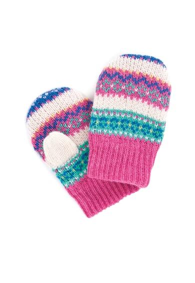 JoJo Maman Bebe Manusi tricotate in dungi Fete
