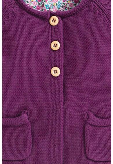 JoJo Maman Bebe Cardigan tricotat cu buzunare Fete