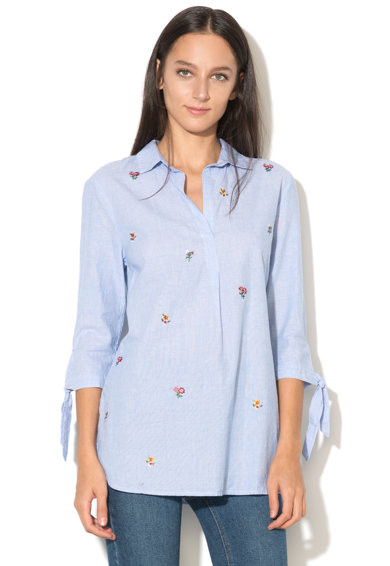 NEW LOOK Camasa tip tunica cu broderie florala Femei