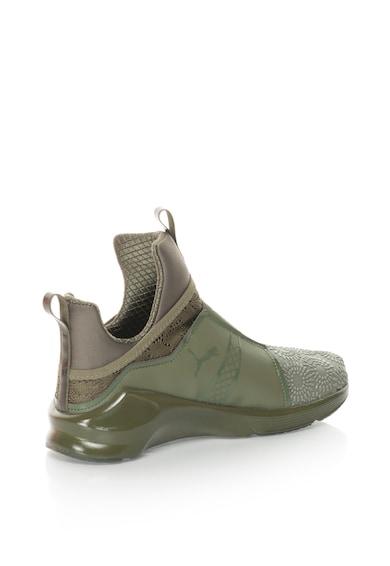 Puma Pantofi sport slip-on mid-high, cu varf texturat FIERCE Femei