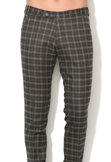 Zee Lane Collection Pantaloni eleganti in carouri Barbati
