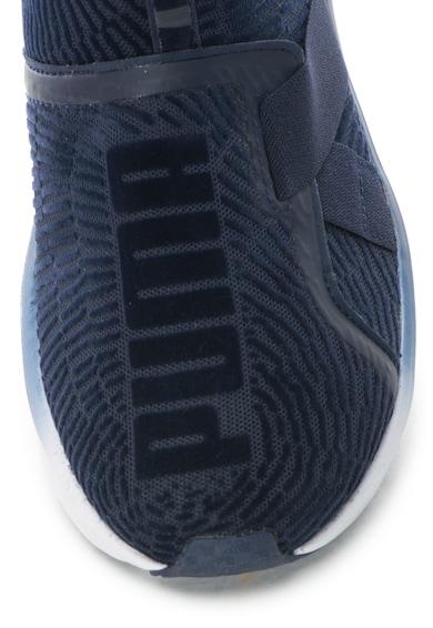 Puma Pantofi sport slip on catifelati cu bareta si detalii catifelate Fierce Femei