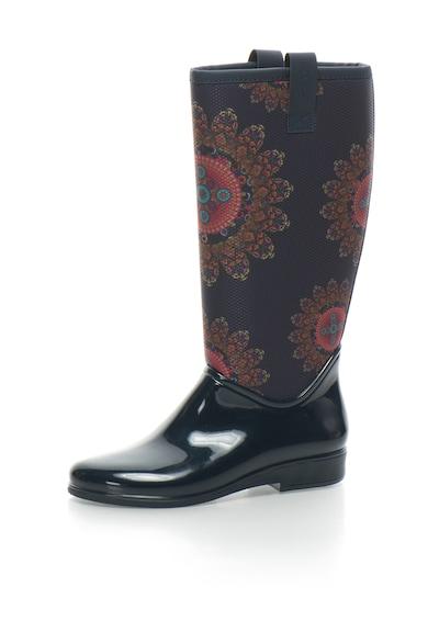 DESIGUAL Cizme de ploaie cu imprimeu cu mandala Femei