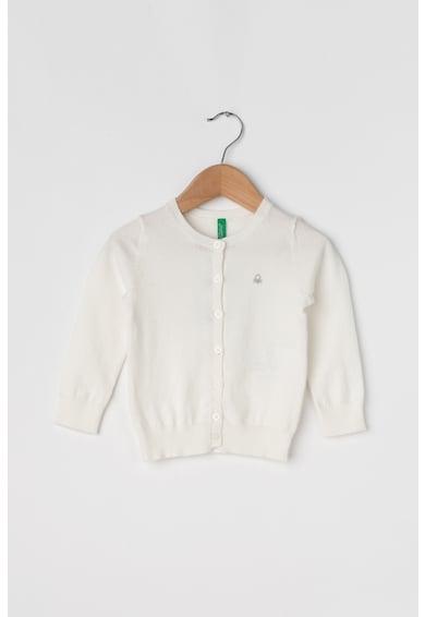 United Colors of Benetton Cardigan tricotat fin cu nasturi Fete