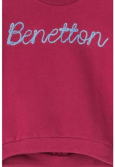 United Colors of Benetton Bluza sport cu logo Fete