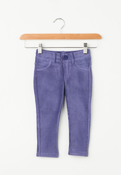 United Colors of Benetton Colanti skinny din reiat cu slit fals Fete