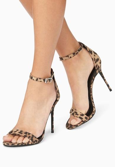 NEXT Sandale cu toc inalt si animal print Femei