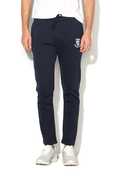 NR1 Number One Pantaloni sport cu logo si buzunare Leo Barbati
