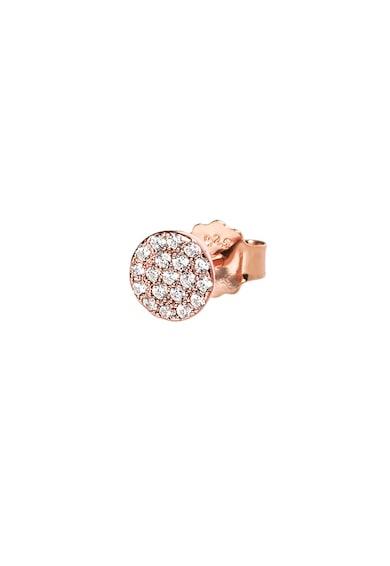 Folli Follie Cercei de argint placat cu aur rose cu tija si accesorii detasabile Femei