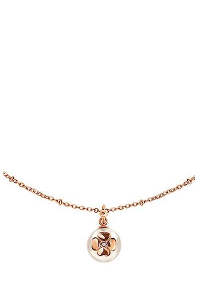 Folli Follie Colier cu pandantiv cu perla sintetica Femei