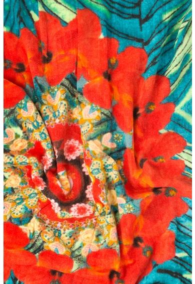 DESIGUAL Esarfa cu imprimeu floral Tropic Garden Femei
