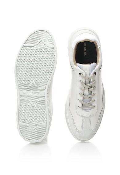 Diesel Pantofi din piele si piele intoarsa Studshean Barbati