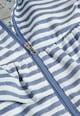 NEXT Jacheta albastru lavanda cu alb si gluga Fete