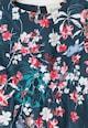 Yumi Rochie cu imprimeu floral, talie elastica si terminatie cu volane Fete
