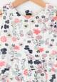 Yumi Rochie cu imprimeu floral si pliuri Fete